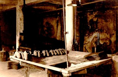 filzschuhproduktion